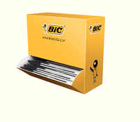 Bic Cristal Medium Ball Point Pen Value Pk Black 896040