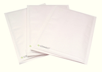 Q-Connect Bubble-Lined Envelope Size 1 White Pk 100 KF71447