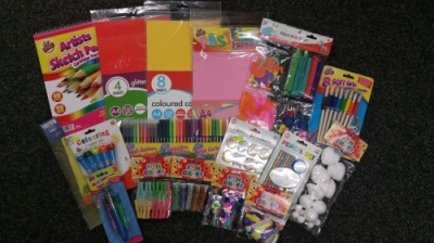 Childrens (Girls or Boys) Craft / Art / Stationery Gift Bundle MK2