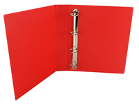Presentation 4D-Ring Binder 40mm Red WX01330 (Pk 10)