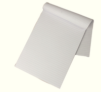 Memo Pad A4 Ruled Feint (Individual or Bulk Packs Available) WX32009
