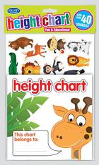 Animal Height Chart with Stickers