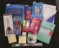 Student University Home Office Starter Stationery Box Gift Bundle SK1