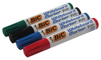 Bic Velleda Whiteboard Marker Chisel Tip Assorted Wallet of 4 1199001754