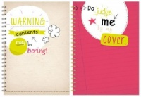 Slogan A4 Twinwire Notebook (Choose from 2 Designs)