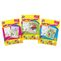 Paint by Numbers Junior Colouring Set (Choice Of Design)