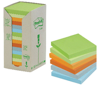 3M Post-it Recycled Pastel Pads Pk 16 654-1RPT