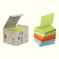 Post-it Pastel Rainbow Z-Notes Pack of 6 R330-1GB