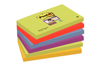 Post-it Super Sticky Notes 76x127mm Marrakesh Pack of 6 655-6SS-MAR-EU