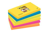 Post-it Super Sticky Notes 76x127mm Rio Assorted Pack of 6 655-6SS-RIO-EU
