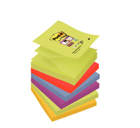 Post-It Super-Sticky Z-Note 76x76mm Marrakesh R330-6SS-MAR-EU Pack of 12