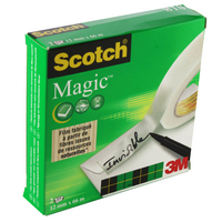 3M Scotch Magic Tape 12mm x 33m 8101266