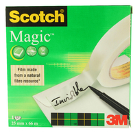 3M Scotch 810 Magic Tape 25mm x66m 8102566