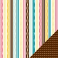 Confetti - Neopolitan Nellie - 12x12 Patterned Paper - 10 sheets