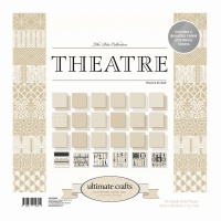 Theatre 12x12in Patterned Paper Pad 24 sheets