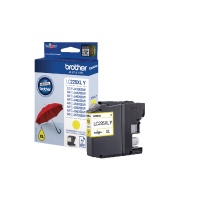 Brother LC225XL High Yield Inkjet Cartridge (Yellow) 1200 Page Yield BA73597