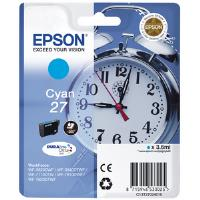 Epson Alarm Clock 27 DURABrite Ultra Ink Cartridge (Cyan) Blister for WorkForce WF-3620DWF/WF-7610DWF/WF-3640DTWF/WF-7620DTWF/WF-7110DTW Printers (EP53302)