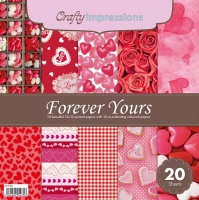 Crafty Impressions 12X12 Patterned & Co-Ordinating Papers - 20 sheets