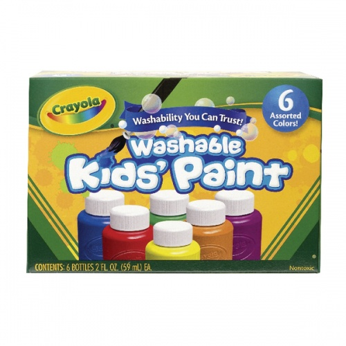 Washable Kids Paint Colours