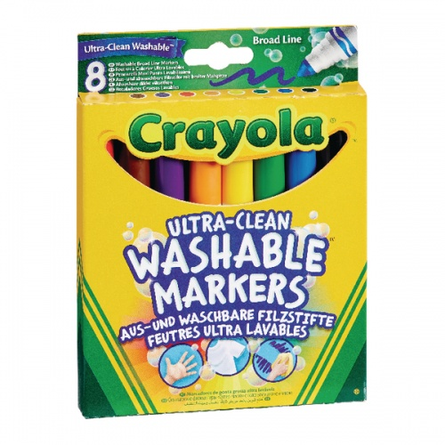 8 Ultra Clean Washable Markers