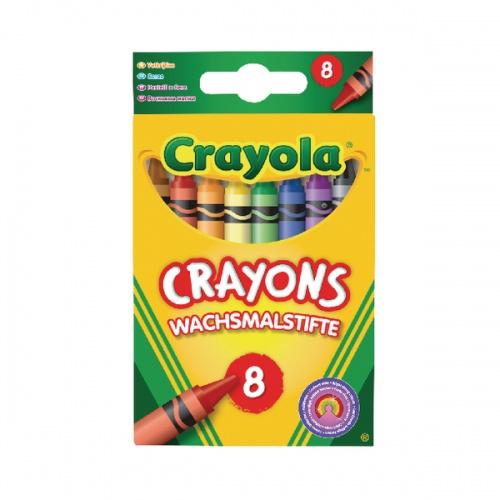 Assorted Colouring Crayons