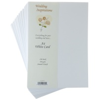 A4 White Card 300Gsm - Pack of 100 Sheets