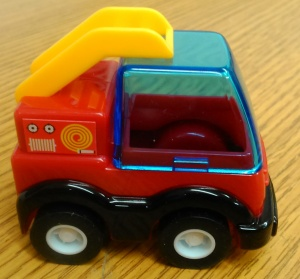 Fire Engine Design Pencil Sharpener