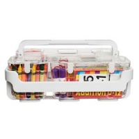 Deflecto Caddy Organiser System (White)