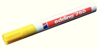 Edding 750 Paint Marker Opaque Bullet Tip Yellow 750-005