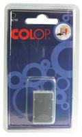 Colop E/10 Replacement Pad Black E10Black Pk 2