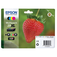 Epson (Strawberry) Inkjet Multipack 29XL 30.5ml  EP02356