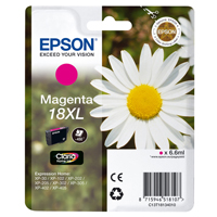 Epson Daisy 18XL Series T1813 Magenta Ink Cartridge (Yield 450 Pages) RS Blister for Expression Home XP-102 Inkjet Printer EP18134