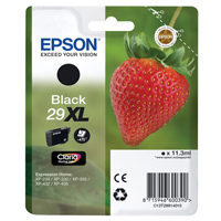 Epson (Strawberry) Inkjet Black 29XL 11.3ml T2991 EP60039