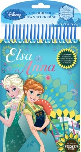 Frozen Fever Colour Your Own Stickers