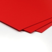 Bubbalux Red - Pack of 3 279x215mm x 2mm Creative Craft Board