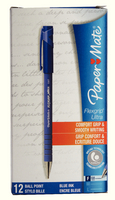 PaperMate Flexgrip Ultra Ball Point Pen Fine Blue 24331 S0190093