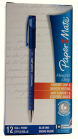 PaperMate Flexgrip Ultra Ball Point Pen Medium Blue 24531 S0190153