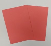 Salmon Red Cover Board - 320gm2 (360 Micron)