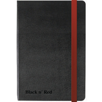 Oxford Black Soft Touch Notebook A6 400033672