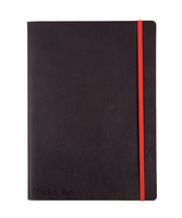 JD Black Soft Cover Notebook B5