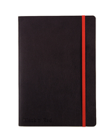 JD Black Soft Cover Notebook A5
