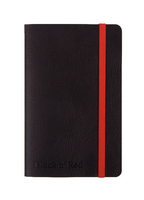 JD Black Soft Cover Notebook A6