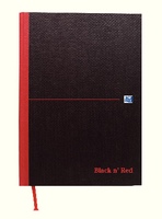 Black n Red Book A4 Feint F66069