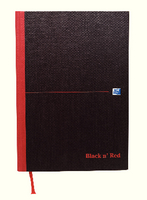Black n Red Book A4 Narrow Ft F66173