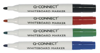 Q-Connect Dry Wipe Marker Assorted Pk 10 KF00880