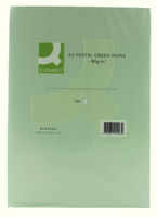 Q-Connect Coloured Copier Paper A4 80gsm Green (500 sheets)