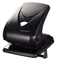 Q-Connect Heavy Duty Hole Punch Black