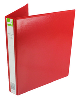 Q-Connect Presentation 4D-Ring Binder 25mm A4 Red (Pk 1) KF01326