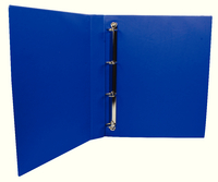 Q-Connect Presentation 4D-Ring Binder 25mm A4 Blue (Pk 1) KF01327