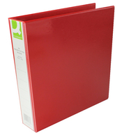 Q-Connect Presentation 4D-Ring Binder 40mm A4 Red KF01330